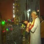 Indian PM visits Ananda Temple in Bagan