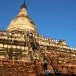 Popular Bagan Pagoda Closes After Terrace Collapse