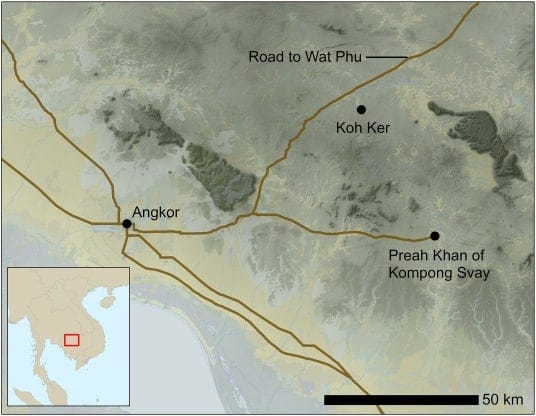 New Paper: Evidence for the breakdown of an Angkorian hydraulic system, and its historical implications for understanding the Khmer Empire