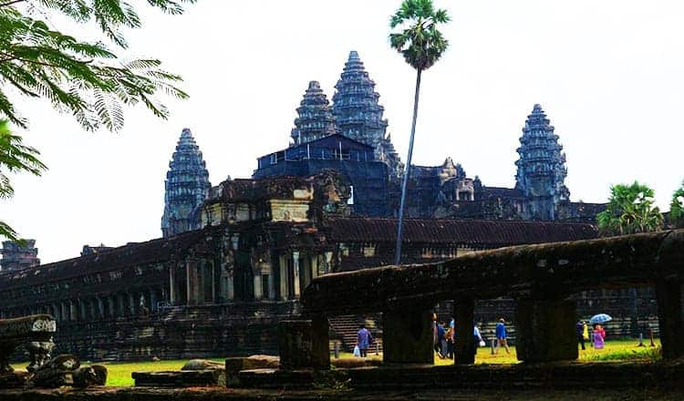 Preservation and politics collide at Angkor Wat