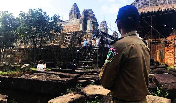 Temple restoration gets US cash