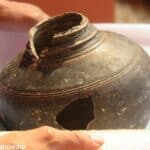 Ancient jar finds home in Siem Reap museum