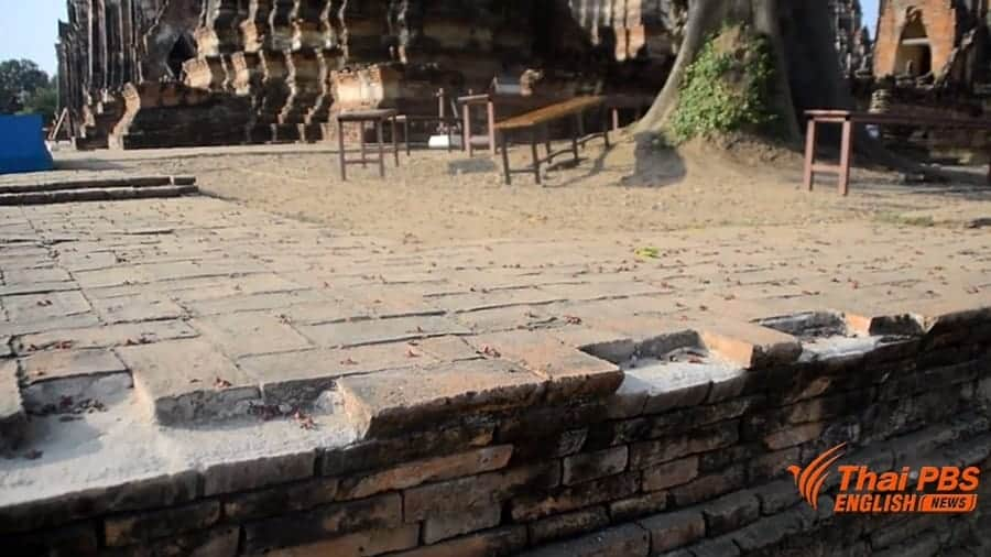 Ayutthaya Historical Park seeks cooperation from tourists visiting Chai Wattanaram temple