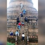 Locals have mixed reaction to Bagan's pagoda climbing ban