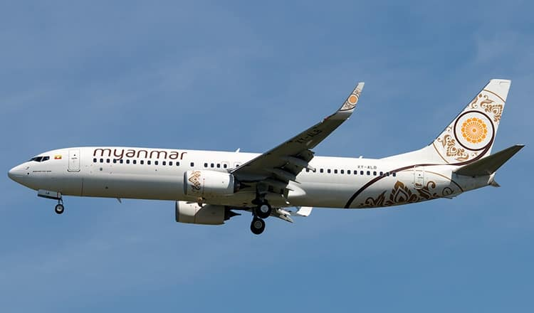 Myanmar Airlines pulls out of route