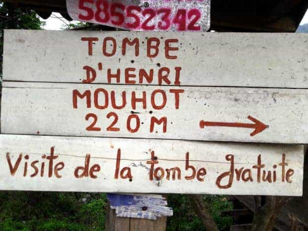 On the trail of the great Henri Mouhot