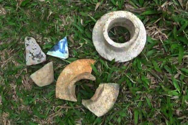 Old pottery discovery causes stir in Trang