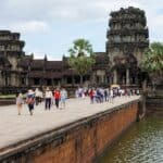 Angkor Wat bridge open for New Year