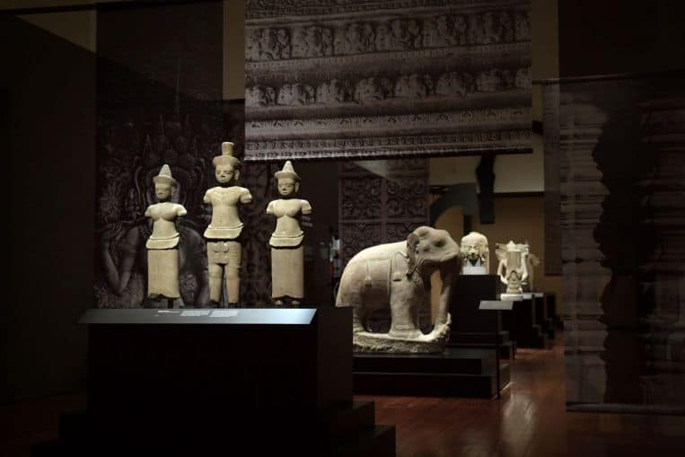 Art from Angkor Wat at Asian Civilisations Museum