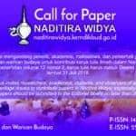 Call for Papers: Naditira Widya Journal