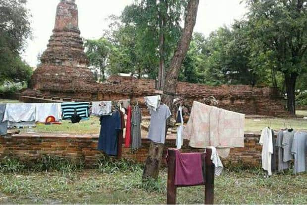 Hefty fines up to B1m for drying clothes at historical sites