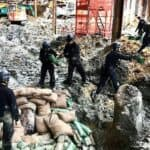 Evacuation in Hong Kong after WWII bomb found