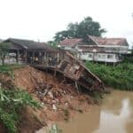 Rains ruin ancient houses