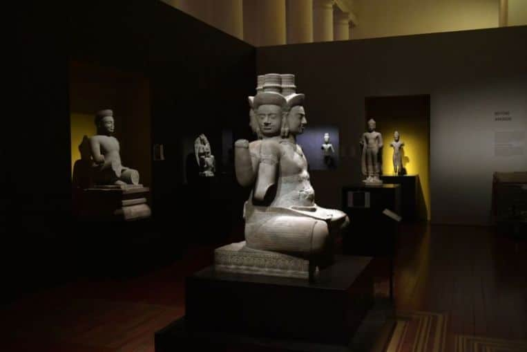 Angkor exhibition at Asian Civilisations Museum extended till July 29