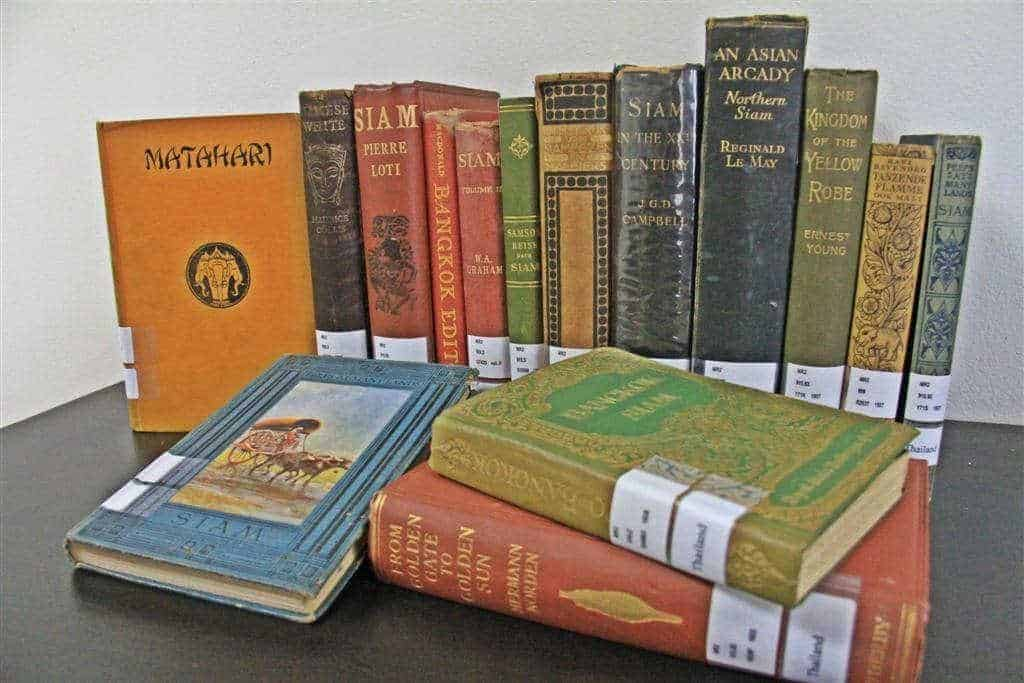 Exhibition of Rare Books at The Siam Society