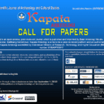 Kapata Arkeologi call for papers