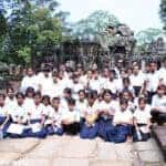 Students learn their ancient heritage