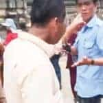 Angkor Park guard halts religious ceremony