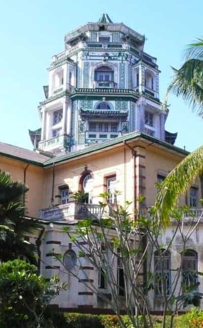 Chin Tsong Palace in Yangon. Source: South China Morning Post 20181102