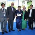 Culture Minister receives archaeology award