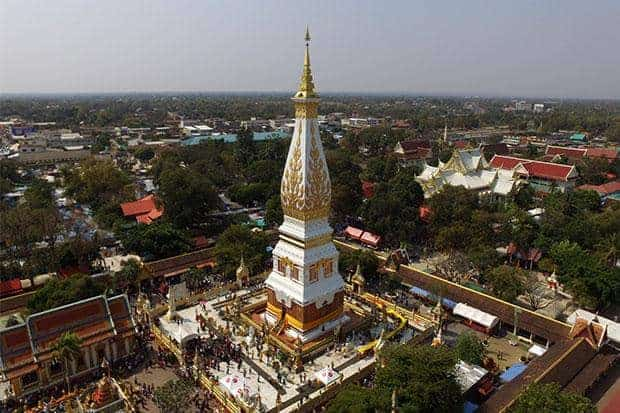 Wat Phra That Phanom. Source: Bangkok Post 20181107