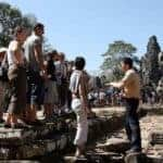 Cambodia's tour guides face tech disruption