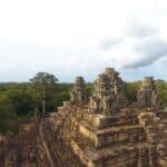Chinese conservationists restore Shiva temple in Angkor Wat, Cambodia