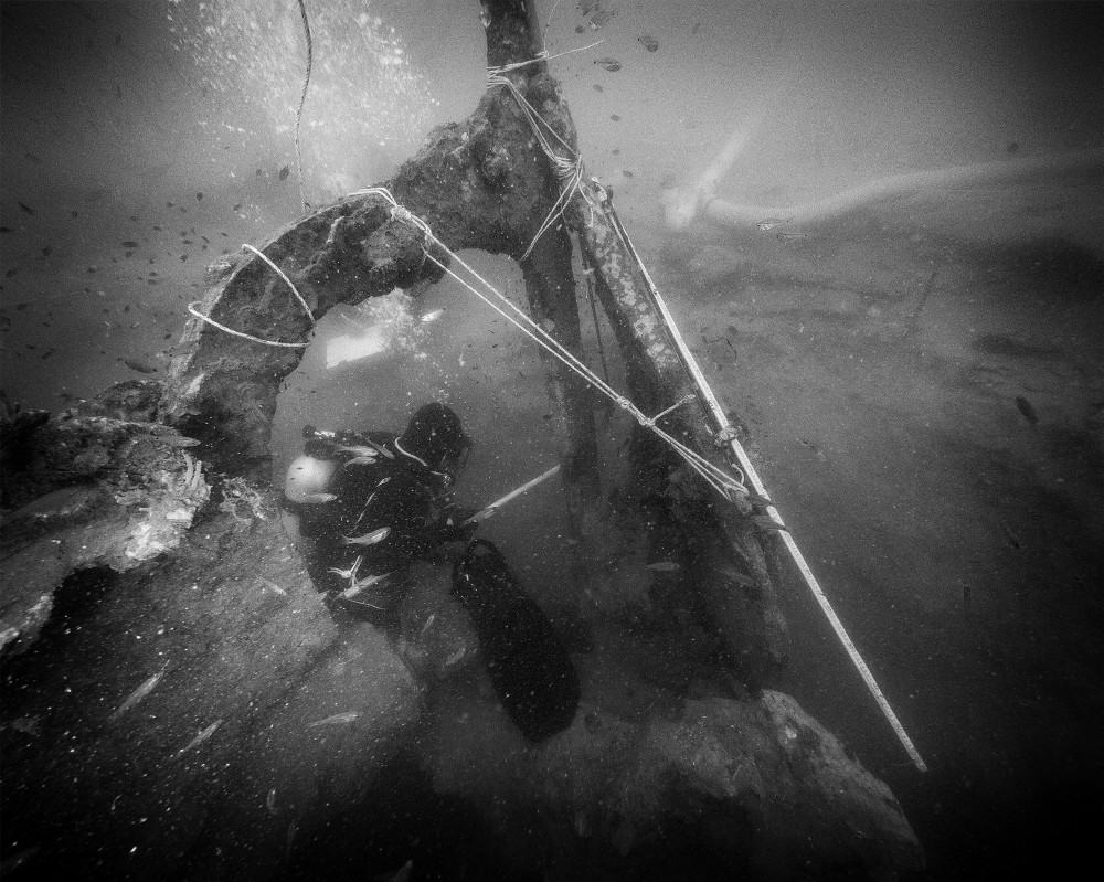 Excavation by the Thai Underwater Archaeology Division. Photo: Pongsatorn Sukhum. Source: Medium.com 20190220
