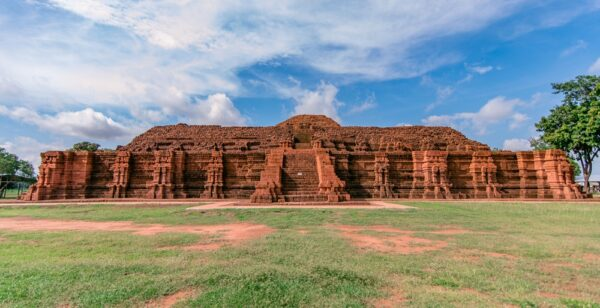 Khao Klang Nok: The great stupa of Draravati, Si thep, Phetchabun, Thailand. Stock photo from Shutterstock/Alwayswin