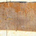 Ancient inscription stone turned in for preservation