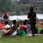 Ban on food inside Angkor complex