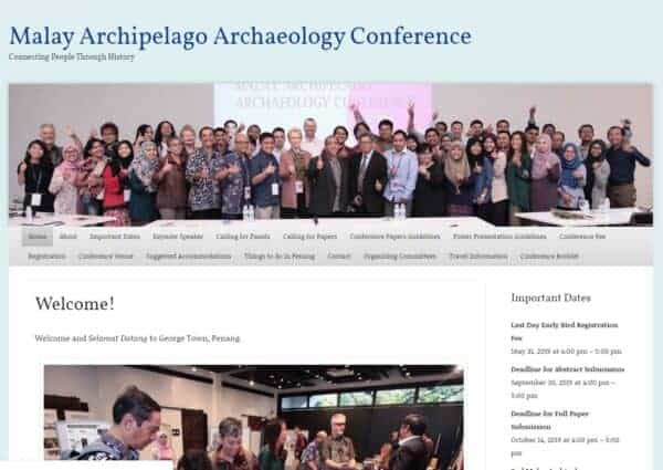 Malay Archipelago Archaeology Conference
