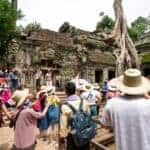 Cambodia's famed Angkor reports 7.7 pct drop in number of foreign tourists in first two months