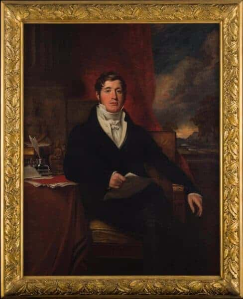 Thomas Stamford Raffles. Source: Asian Civilisations Museum