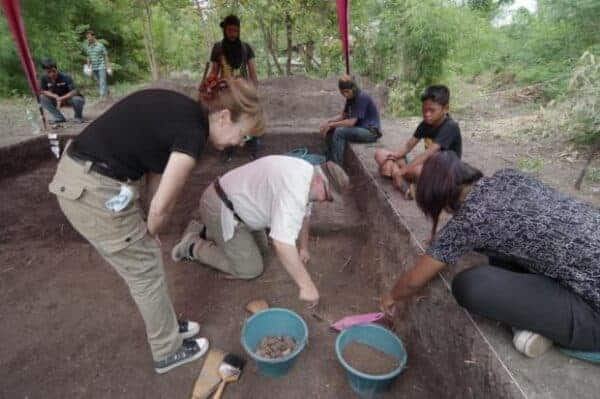 Excavations at Khok Phutsa. Source: Fine Arts Department, via Bangkok Post 20190408