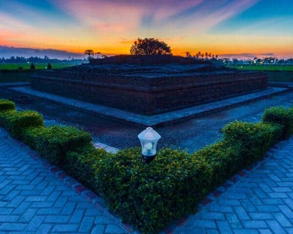 Candi Batujaya. Stock photo from Erick Doorka Purba / Shutterstock