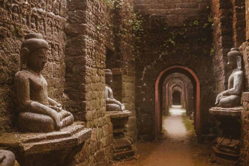 Mrauk U. Stock photo from Shutterstock / Nevskii Dmitrii
