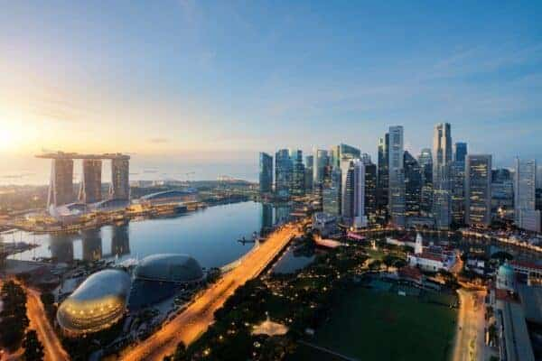 Singapore skyline. Stock photo from Shutterstock / Travelerpix