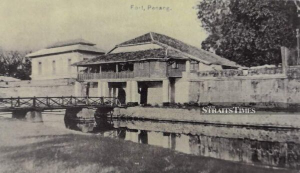 Archive photo of Fort Cornwallis. Source: New Straits Times, 20190526