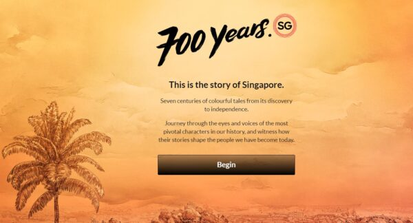 700years.sg website