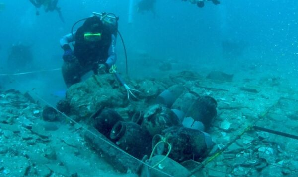 Underwater archaeology in Thailand. Source: Thaipost 20190613
