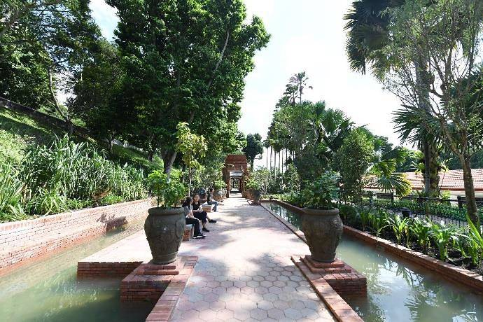 Sang Nila Utama Garden, Fort Canning Park. Source: Channel NewsAsia 20190528