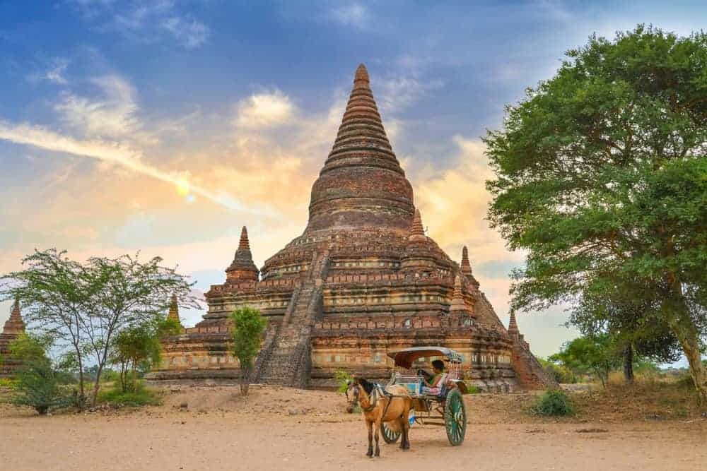 Bulethi Pagoda. Stock photos from Shutterstock / Akarat Phasura
