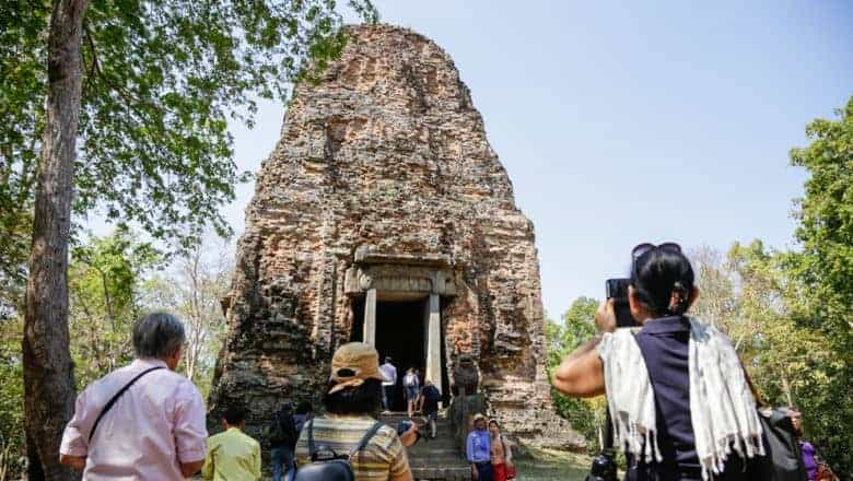 Lion Temple in the Sambor Prei Kuk archaeological site. Source: Phnom Penh Post 20190531