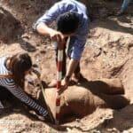 Ancient statue found in Siem Reap