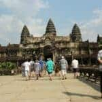 Sales of Angkor complex tickets down nine percent