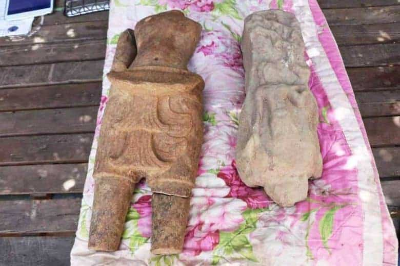 Sculptures from Oddar Meanchey designated as national heritage. Source: Phnom Penh Post 20190722