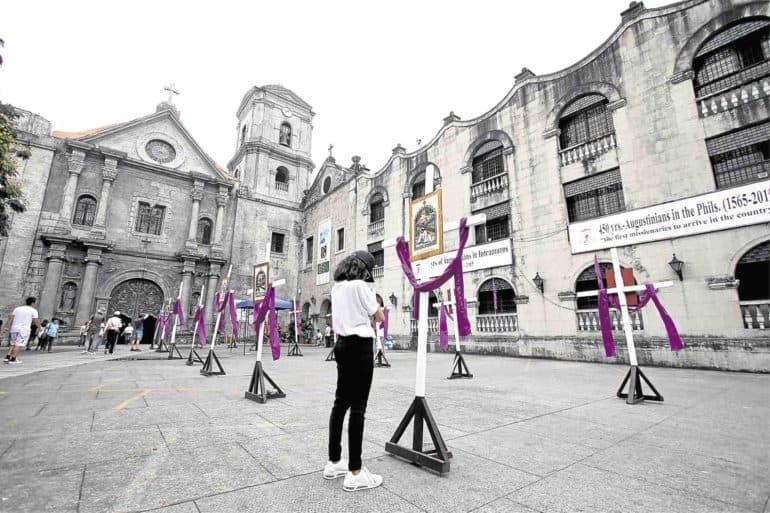 San Agustin Church in Intramuros, Manila. Source: Philippine Inquirer 20190715