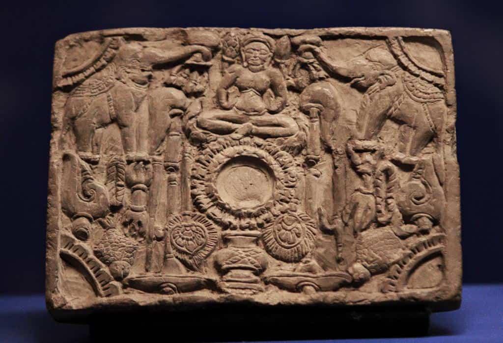 Bas-relief of Lakshmi. Source: Bangkok Post 20190811