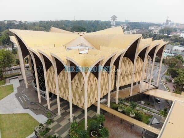 The new Sarawak Museum Complex. Source: Borneo Post, 20190809